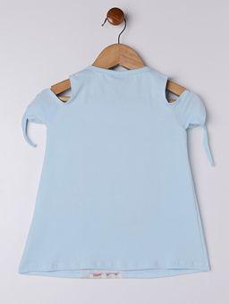 Blusa-Manga-Curta-Infantil-Para-Menina---Azul-6