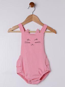 Macacao-Infantil-Para-Bebe-Menina---Branco-salmao-M