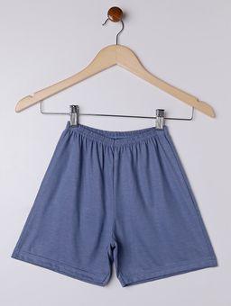 Pijama-Curto-Juvenil-para-Menino---Cinza-azul