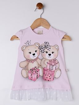 Conjunto-Infantil-para-Bebe-Menina---Rosa-azul