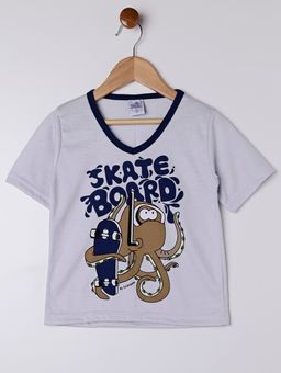 Pijama-Curto-Infantil-para-Menino---Azul-Marinho