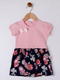 Vestido-Infantil-para-Bebe-Menina---Rosa-marinho