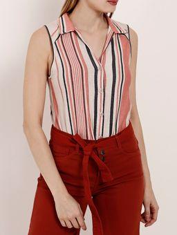Camisa-Regata-Feminina-Autentique-Laranja-bege-M