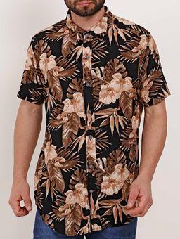 Camisa-Manga-Curta-Masculina-Dixie-Preto-P