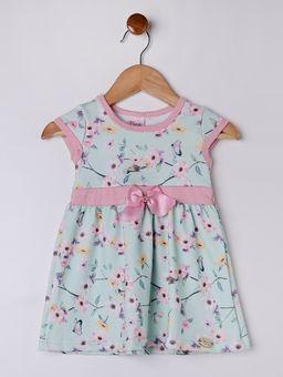 Vestido-Infantil-para-Bebe-Menina---Verde