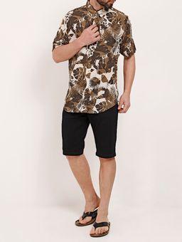 Bermuda-Slim-Jeans-Masculina-Dixie-Preto