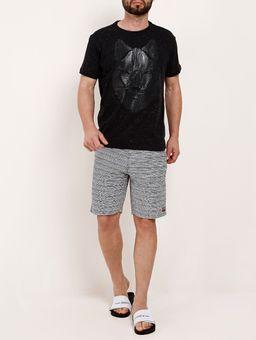 Bermuda-de-Tecido-Sustentavel-Masculina-Preto-branco