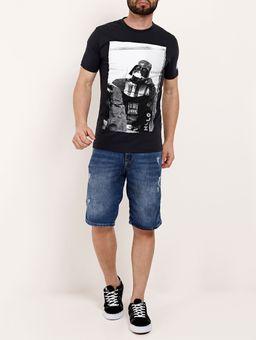 Camiseta-Manga-Curta-Masculina-Chumbo-P