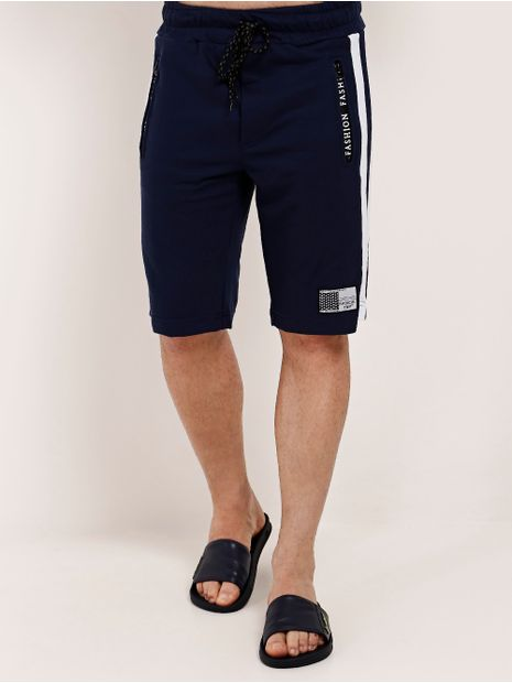 Bermuda-Moletom-Masculina-Azul-Marinho