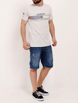 Camiseta-Manga-Curta-Masculina-Gangster-Bege-P