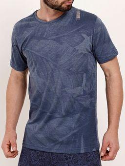 Camiseta-Manga-Curta-Masculina-Dixie-Azul-P