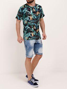 Camiseta-Manga-Curta-Masculina-Dixie-Azul-Marinho-azul-P
