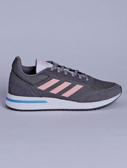Tenis-Casual-Feminino-Adidas-Run-Cinza-rosa