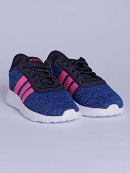 Tenis-Esportivo-Adidas-Lite-Racer-Juvenil-Para-Menina---Azul-rosa-32