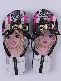 Chinelo-Ipanema-Barbie-Fashion-Infantil-para-Menina---Preto-dourado