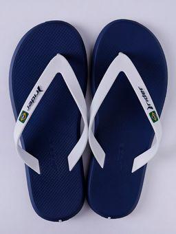 Chinelo-Masculino-Rider-R1-Azul-branco-39