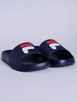Chinelo-Slide-Masculino-Fila-F-Slider-2.0-Azul-Marinho