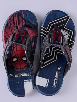 Chinelo-Homem-Aranha-Infantil-Para-Menino---Cinza-prata-azul-28