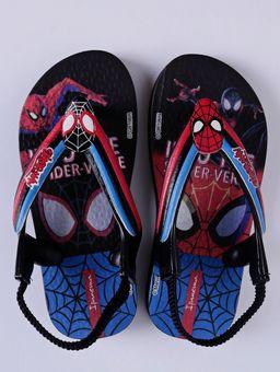 Sandalia-Homem-Aranha-Infantil-Para-Bebe-Menino---Preto-azul-19
