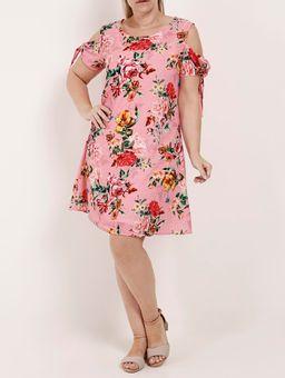 Vestido-Plus-Size-Feminino-Autentique-Rosa-P