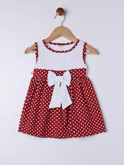 Vestido-Infantil-Para-Bebe-Menina---Vermelho