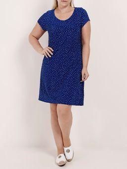 Vestido-Liganete-Plus-Size-Feminino-Rovitex-Azul