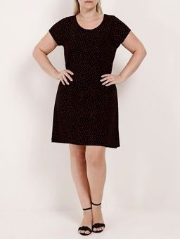 Vestido-Liganete-Plus-Size-Feminino-Rovitex-Preto