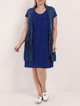 Colete-Jeans-Parka-Plus-Size-Feminino-Azul-EXG