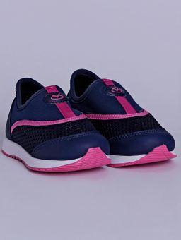 Tenis-Infantil-Para-Bebe-Menina---Azul-Marinho-rosa-Pink-19