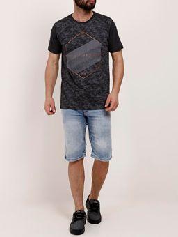 Camiseta-Manga-Curta-Masculina-Dixie-Chumbo-P