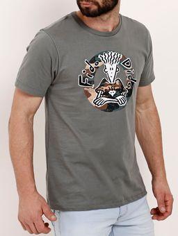 Camiseta-Manga-Curta-Masculina-Fido-Dido-Verde-P