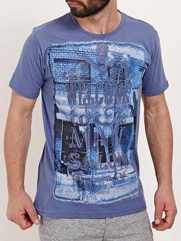 Camiseta-Manga-Curta-Masculina-Azul-
