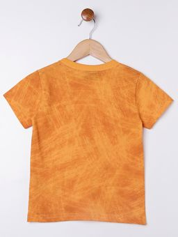 Camiseta-Manga-Curta-Infantil-Para-Menino---Laranja-1