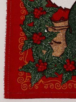 Pano-de-Copa-Natalino-Lepper-Verde-vermelho