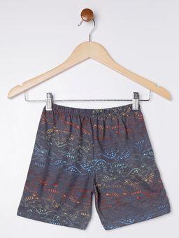 Pijama-Curto-Infantil-Para-Menino---Cinza-chumbo-6