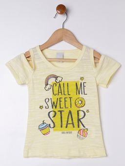 Conjunto-Infantil-para-Menina---Amarelo-azul-Marinho