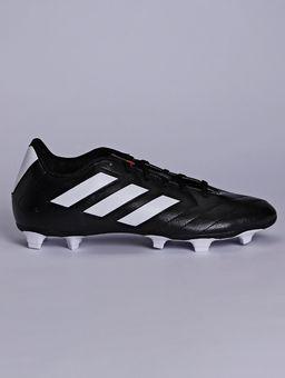 Chuteira-Masculina-Adidas-Goletto-Vii-Campo-Preto-branco-vermelho-37