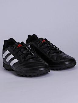 Chuteira-Masculina-Society-Adidas-Goletto-Vii-Preto-branco-vermelho-37