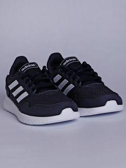 Tenis-Adidas-Archivo-Juvenil-Para-Menino---Azul-branco