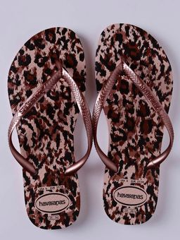 Chinelo-Feminino-Havaianas-Slim-Animals-Rosa-rose-34