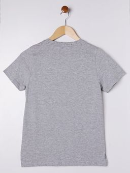 Camiseta-Capitao-America-Manga-Curta-Juvenil-para-Menino---Cinza