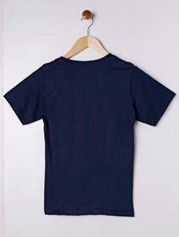 Camiseta-Manga-Curta-Juvenil-Para-Menino---Azul-10
