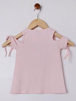 Blusa-Manga-Curta-Infantil-Para-Menina---Rosa-6
