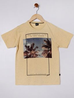 Camiseta-Manga-Curta-Juvenil-Para-Menino---Amarelo-16