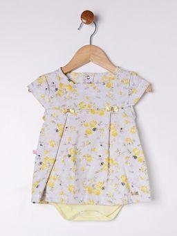 Vestido-Infantil-Para-Bebe-Menina---Cinza