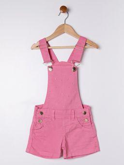 Macacao-Jardineira-Sarja-Infantil-para-Menina---Rosa