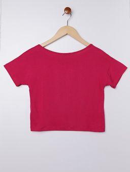 Blusa-Cropped-Manga-Curta-Juvenil-para-Menina---Rosa-Pink