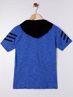 Camiseta-Manga-Curta-Juvenil-Para-Menino---Azul-16