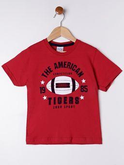 Camiseta-Manga-Curta-Infantil-Para-Menino---Vermelho-6