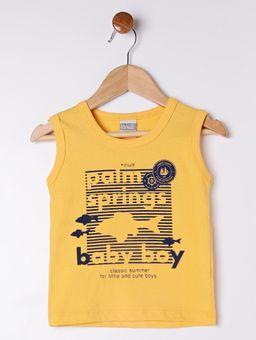 Conjunto-Infantil-Para-Bebe-Menino---Amarelo-cinza-M